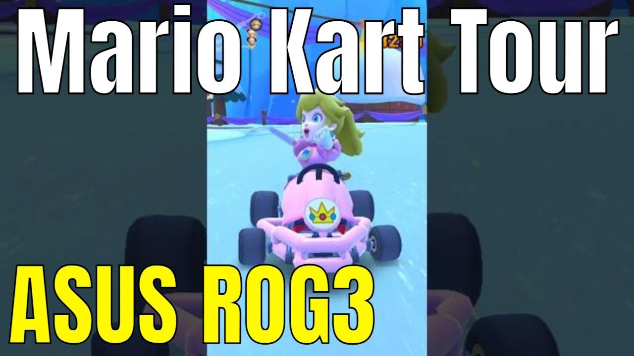 Mario Kart Tour Mobile ASUS ROG3 free2play