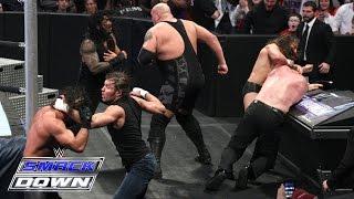 getlinkyoutube.com-6 Man Tag Team Main Event: SmackDown, January 15, 2015