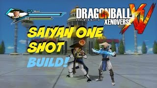 getlinkyoutube.com-Dragon Ball Xenoverse- Super Saiyan One Shot Build- Ki Blast