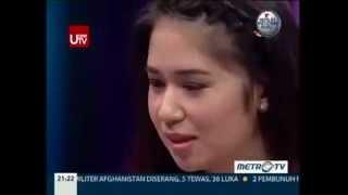 Alexandra Gottardo, Laura Basuki, Annisa Pohan, Paramitha Rusady part2 @ Just Alvin MetroTV 110514