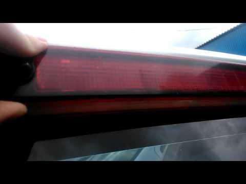 Как заменить лампочки в стоп сигнале на Suzuki Grand Vitara