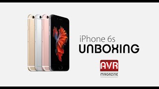 Unboxing Apple iPhone 6S Italianoi