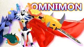 getlinkyoutube.com-Omnimon [Omegamon] SH Figuarts Digimon Review