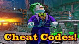 getlinkyoutube.com-LEGO Batman 3: Beyond Gotham Character Cheat Codes- 1080p HD