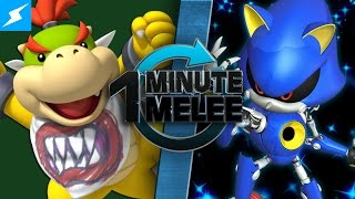 getlinkyoutube.com-One Minute Melee - Bowser Jr vs Metal Sonic (Nintendo vs SEGA)