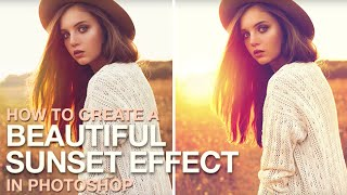 getlinkyoutube.com-How to Create a Beautiful Fantasy Sunset Effect in Photoshop