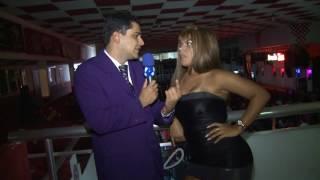getlinkyoutube.com-Linguarudo leva Surra de Bunda no Baile Funk - TV Fama