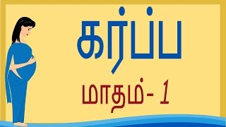 Pregnancy | Tamil | Month 1 | கர்ப்பம் மாதம் 1
