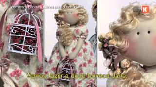 getlinkyoutube.com-Curso online de Bonecas românticas de Millyta | eduK.com.br