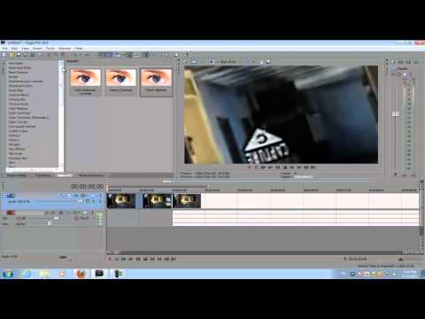 Sony Vegas Pro 10: 3D Image Swirl (Call of Duty Montage Effect)