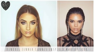 Kendall Jenner Cannes Inspired Makeup Look | Instagram Makeup 2016 ❤