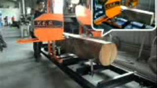 getlinkyoutube.com-Máy Cưa CD  Band Saw Mill   YES 700M