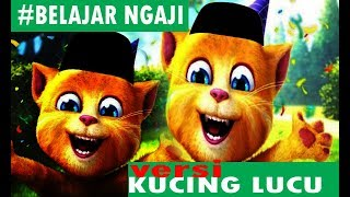 Kucing lucu #belajar mengaji