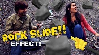 Rock Slide Movie Effect - QUICK FX