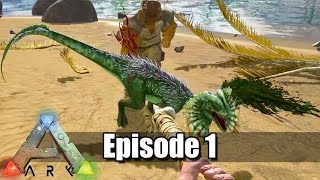 getlinkyoutube.com-Dansk ARK Survival Evolved - EP 1 - Dodo Jagt!