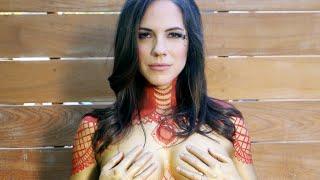 getlinkyoutube.com-Anna Silk's Nude Pregnancy Photoshoot || ET Canada