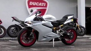 getlinkyoutube.com-2016 Ducati 959 Panigale Arctic White Silk at Euro Cycles of Tampa Bay