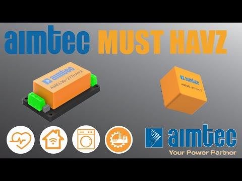 Aimtec's Must HAVZs - Orange AC/DC Converters