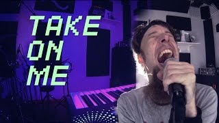 getlinkyoutube.com-Take On Me (metal cover by Leo Moracchioli)