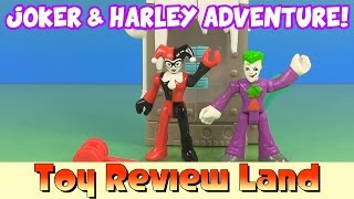 getlinkyoutube.com-The Joker & Harley Quinn in: The Shrinking Machine Adventure!