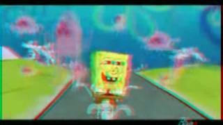 getlinkyoutube.com-Spongebob in 3D (Red / Cyan)