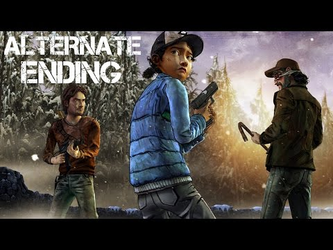 The Walking Dead Game Season 2 Episode 4 - Alternate Choices Ending