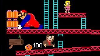 getlinkyoutube.com-If Donkey Kong and Mario switched places