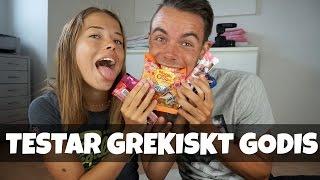 getlinkyoutube.com-Testar Grekiskt godis med Emil