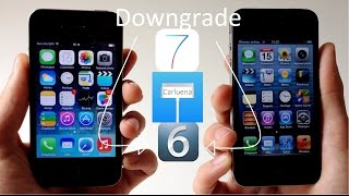 getlinkyoutube.com-Downgrade iOS 6 iPhone 4 SIN SHSH + explicación untethered (normal boot)