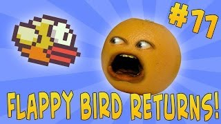 getlinkyoutube.com-Annoying Orange - Ask Orange #11: Flappy Bird Returns