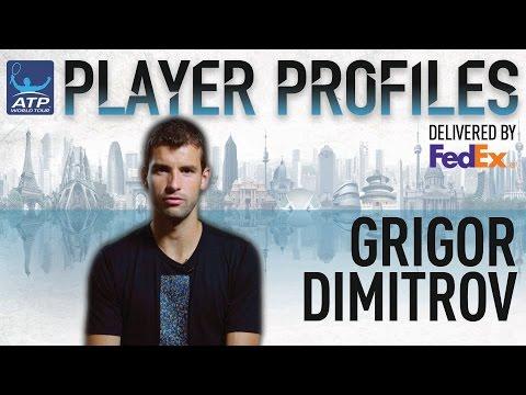 Grigor Dimitrov FedEx ATP Player Profile 2017