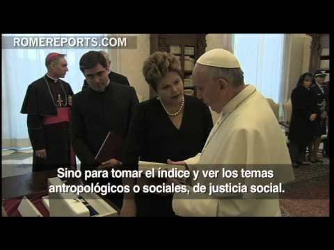 Dilma Rousseff presidenta de Brasil invita al Papa a la JMJ de Ro 2013