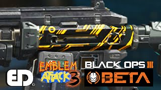 getlinkyoutube.com-Black Ops 3: CYBORG Camo (BO2) Paint Job (Emblem Attack 3)