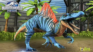 Spinosaurus Unlocked - Stage 25 | Jurassic World The Game