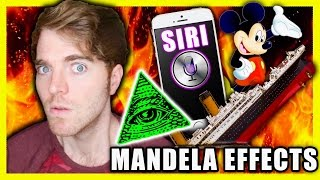 CONSPIRACY THEORIES & NEW MANDELA EFFECTS