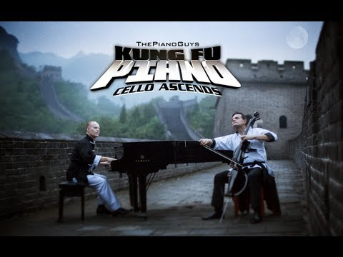 Kung Fu Piano: Cello Ascends - ThePianoGuys (Wonder of The World 1 of 7)