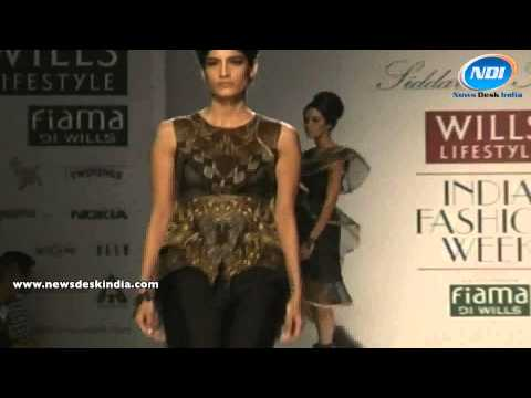 Wills India Fashion Week 2014: Siddartha Tytler Collections