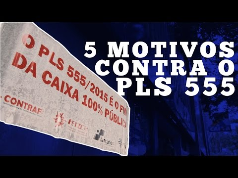 Ato contra o PLS 555