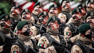 getlinkyoutube.com-Fuerzas especiales de México 2016. Mexican Military Parade 2016. Desfile militar MEX
