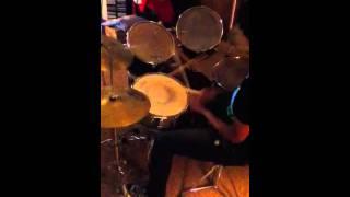Kenyera on the drums