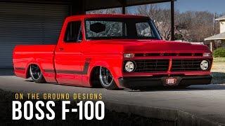 Boss F-100 | On The Ground Designs