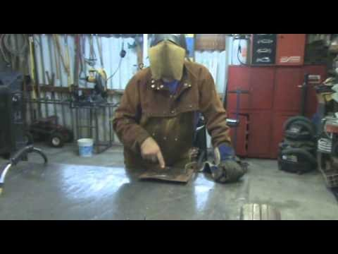 MIG Welding: Setting Voltage and Wire Feed - Kevin Caron