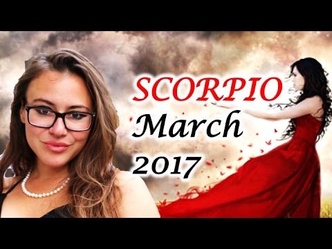 SCORPIO March 2017 Horoscope. VENUS Retrograde: Letting go of the PAST!