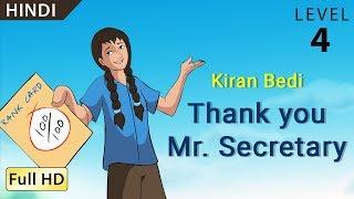 "getlinkyoutube.com-Kiran Bedi, Thank you Mr Secretary: Learn Hindi - Story for Children ""BookBox.com"""