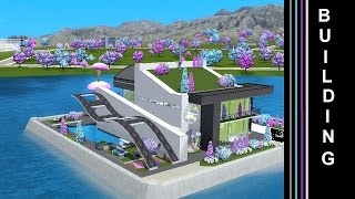The Sims 3 Into The Future - Building a House in Utopia (Oasis Landing)