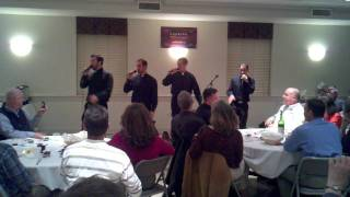 getlinkyoutube.com-Seminarians singing Where is the love at spiritual retreat