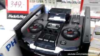 getlinkyoutube.com-LG MINI HiFi System OM 5540 - SOUNDTEST
