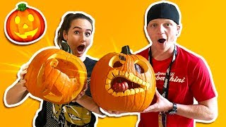 EXTREME PUMPKIN CARVING CONTEST!