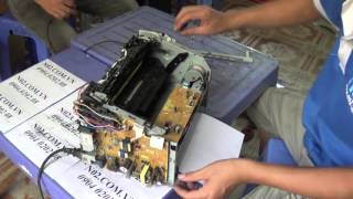 getlinkyoutube.com-Máy in ra giấy liên tục, hướng dẫn sửa chữa.