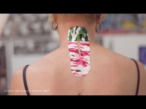 How to Kinesio Tape for Neck Pain with RockTape Rock Doc